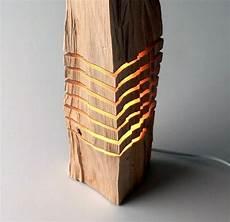 schicke moderne tischle holz licht rustikales design