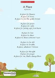 A Place Poem Primary Ks1 Ks2 Teaching Resource