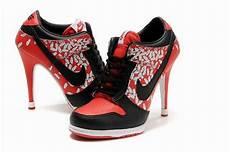 nike dunk high heels leila d