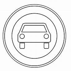 Malvorlagen Verkehrsschilder Romantik Verkehrszeichen Zum Ausmalen Verkehrszeichen Der