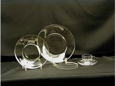 Glass Dinnerware Rental, Glass Dinner Plates & Bowls