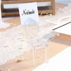marque place mariage marque place en forme de chaise transparente drag 233 es anahita