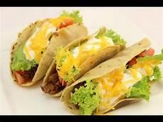 Tacos Selber Machen Taco Shells Selber Machen F 252 Llung