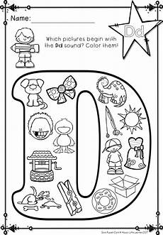 letter d beginning sound worksheets 24195 alphabet beginning sound coloring pages great for students to identify beginning sound wo