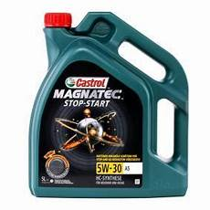 engine castrol magnatec stop start a5 159a60 5w 30