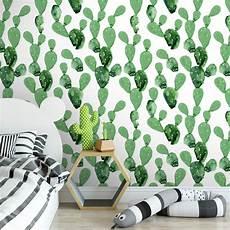 papier peint amovible cactus papier peint amovible moonwallstickers