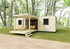 Chalet Bois En Kit 20m2 Habitable