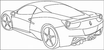 Printable Sports Car Coloring Pages For Kids & Teens