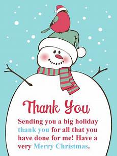 holiday goodies christmas thank you card birthday greeting cards by davia