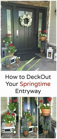 how to deck out your springtime entryway colorful details make all the difference refresh for