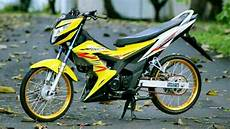 Motor Sonic Modifikasi by Modifikasi Motor Sonic 150r Terbaru