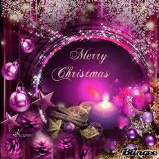 merry christmas purple ornaments picture 119561803 blingee com