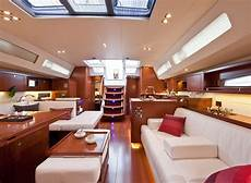 interno barca a vela luxury sailing yacht oceanis 58 sicily aeolian