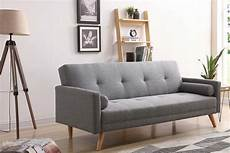 Canap 233 Convertible Scandinave 3 Places Gris Wooden