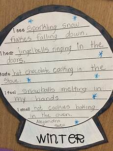 teaching poetry ks2 ideas 25488 freebie 5 senses poem snow globe template writing 5 senses poem poems