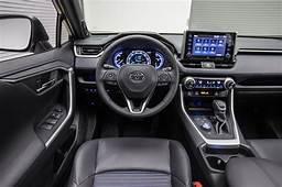 2019 Toyota RAV4 Hybrid Steering Wheel 02  Motor Trend