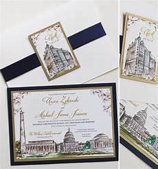 Washington Dc Wedding Invitations