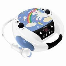 lecteur cd portable enfant lecteur cd portable avec microphone bigben 230 v licorne