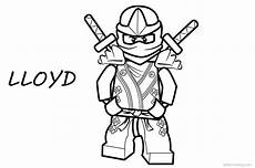 lego ninjago coloring pages lloyd free printable
