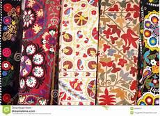 copriletti ricamati copriletti ricamati turco tradizionale immagine stock