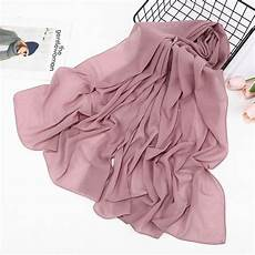 Solid Color Summer Glitter Chiffon Scarf Shimmer