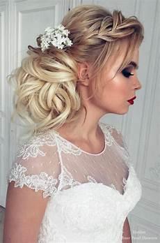 40 best wedding hairstyles for long hair deer pearl flowers