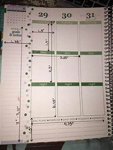 Planner Dimensions erin condren planner box dimensions eclp