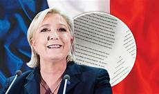 What Is Marine Le Pen S Programme What Are