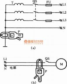 ground fault indicator tester wiring diagram leakage ground fault point measuring by cl meter measuring and test circuit circuit