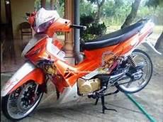 Modifikasi Supra 125 Airbrush by Motor Trend Modifikasi Modifikasi Motor Honda
