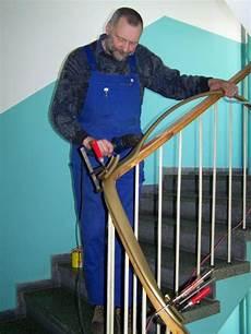 montage kunststoffhandlauf renovierung vom treppenhandlauf