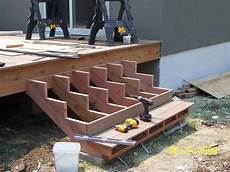 How To Add Stairs To Your Deck best deck design ideas attaching deck stairs deck stairs