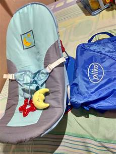 jual tempat duduk bayi pliko fold up infant seat with music and 2 speed soothing vibration