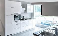Küche Inklusive Montage - einbauk 252 che lyon in hochglanz wei 223 bei hardeck kaufen
