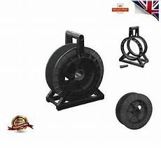 black cable reel complete spool stand electric fence fencing wire tape ebay