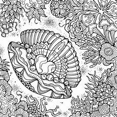 coloring pages for adults sea animals 17312 332 best coloring seashells sea images on coloring books colouring pages