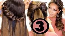 3 cute summer hairstyles made easier for you easy hairstyles makeupwearables youtube