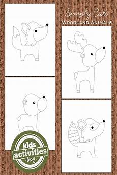woodland animals coloring pages free 17189 woodland animal coloring pages for woodland animals kid kid and kid activities
