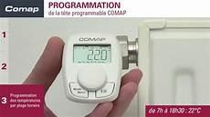 comment monter une t 234 te thermostatique programmable comap