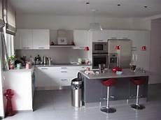 decoration cuisine gris deco cuisine gris et atwebster fr maison et mobilier