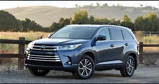 2020 Toyota Highlander Changes Redesign Exterior Colors