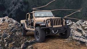 Jeep Shows Off XMT Military Spec Gladiator Pickup Truck