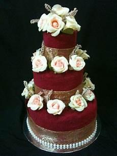 Wedding Towel Cake Ideas