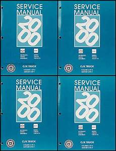 best auto repair manual 2000 gmc yukon regenerative braking 2000 chevy gmc repair shop manual original set silverado sierra tahoe suburban yukon