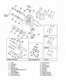 Mitsubishi Montero Questions Diagram For Rear Brake K