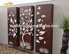 sell decorative metal art fence panel used for outdoor light box in 2019 metal tree wall