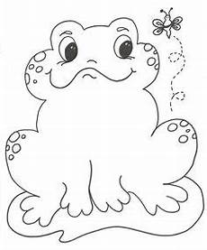 Frosch Malvorlagen Quest Printable Frog Clover Coloring Page The Inky Octopus