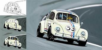 That Was My First Car Drawing On Photoshop Herbie Art