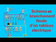 tableau electrique raccordement sch 233 ma branchement c 226 blage tableau electrique maison