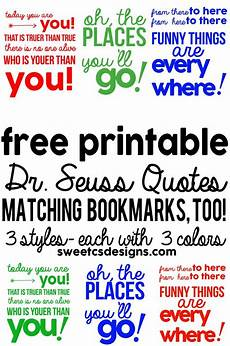 worksheets preschool 18341 mega dr seuss 3 quote printables in different colors plus free bookmarks dr seuss